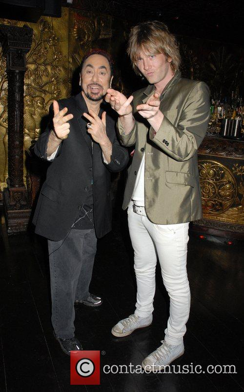 David Gest and Donny Tourette at the 'Caudwell...
