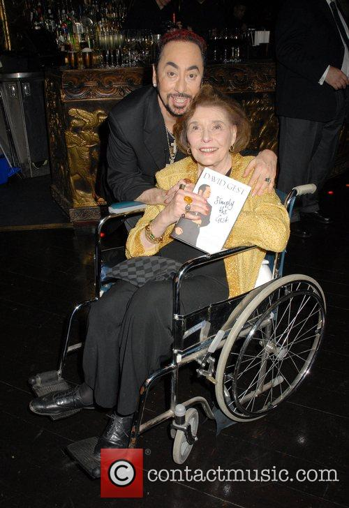 David Gest and Guest at the 'Caudwell Children...