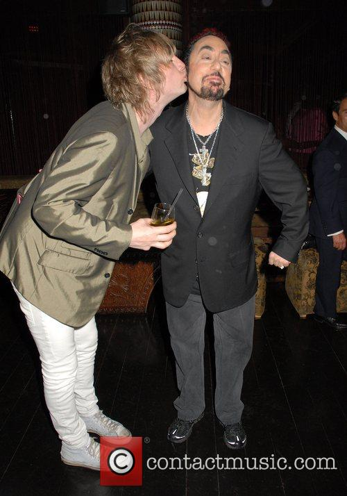 Donny Tourette and David Gest at the 'Caudwell...