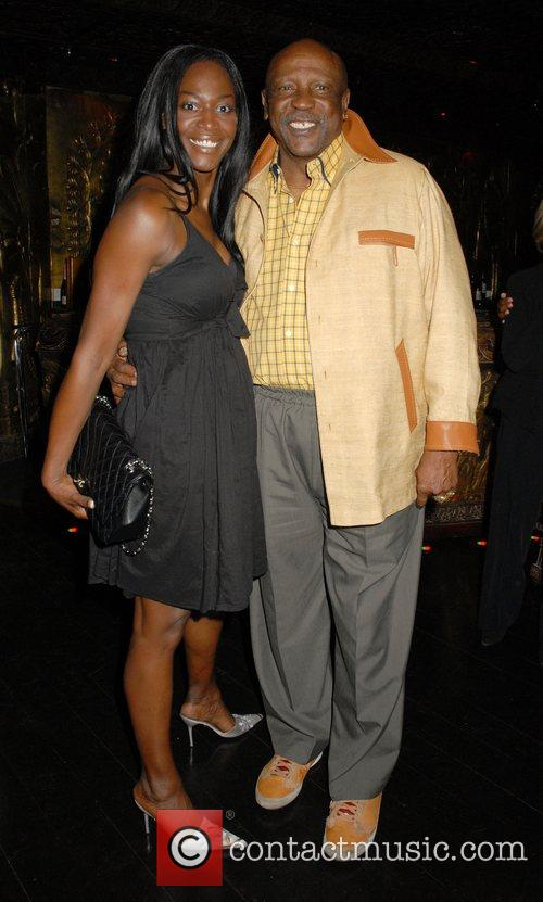 Guest and Louis Gossett Jr at the 'Caudwell...