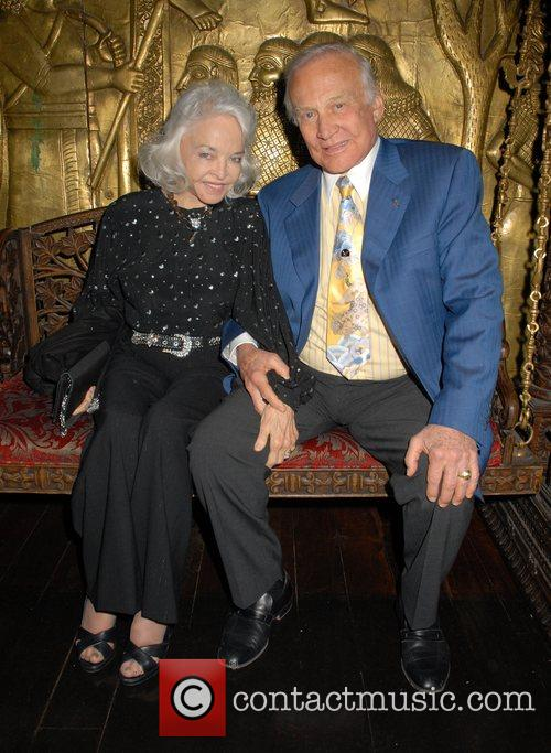 Guest and Buzz Aldrin at the 'Caudwell Children...