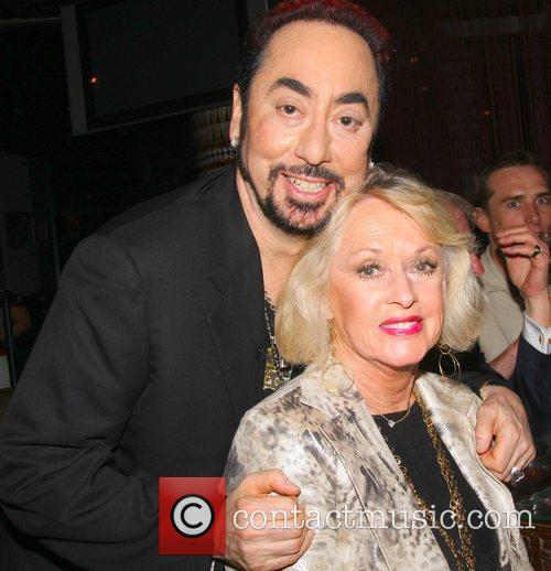 David Gest and Tippi Hedren at the 'Caudwell...