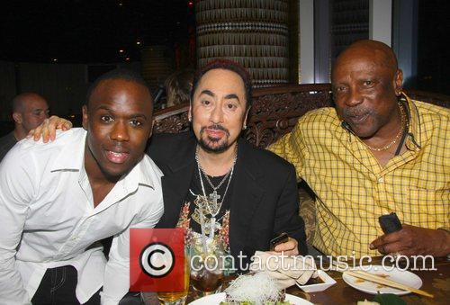 Mohammed George, David Gest and Louis Gossett Jr...