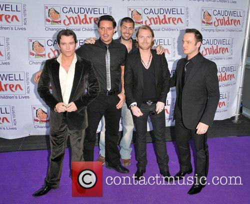 Stephen Gately, Keith Duffy, Ronan Keating and Shane Lynch 1