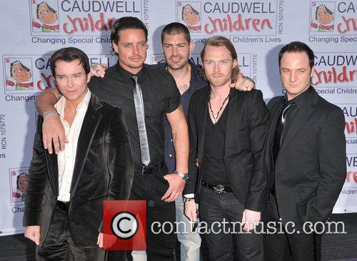 Stephen Gately, Keith Duffy, Ronan Keating and Shane Lynch 8