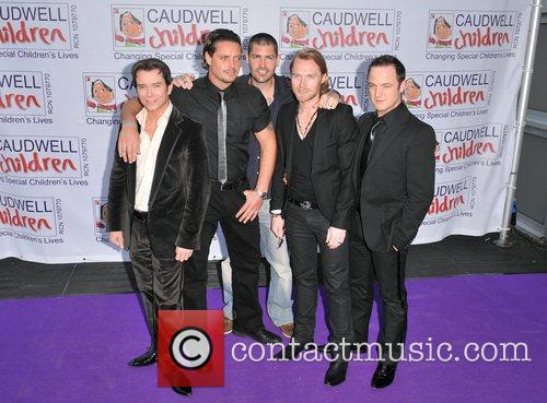 Stephen Gately, Keith Duffy, Ronan Keating and Shane Lynch 5