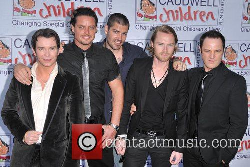 Stephen Gately, Keith Duffy, Ronan Keating and Shane Lynch 6