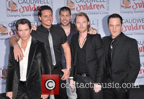Stephen Gately, Keith Duffy, Ronan Keating and Shane Lynch 4