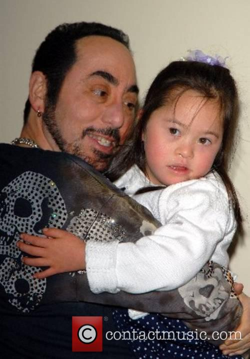 David Gest and Isabella Costello, a downs syndrome...
