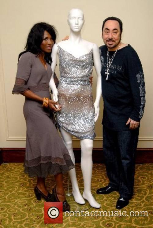 Sinita and David Gest photocall at the Grosvenor...