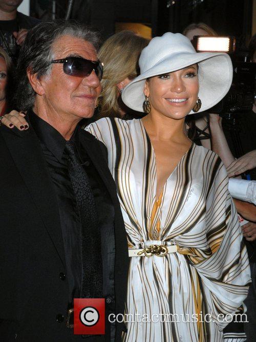 Jennifer Lopez and Roberto Cavalli 2