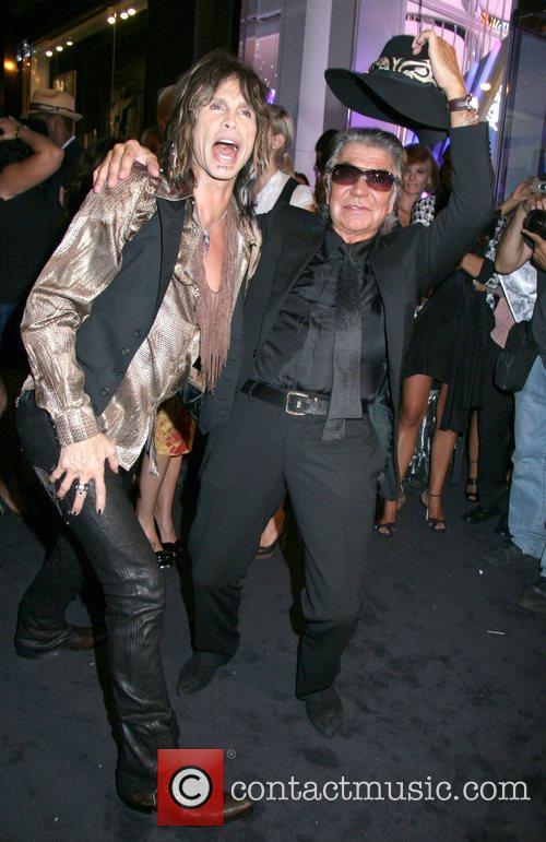 Steven Tyler and Roberto Cavalli 4