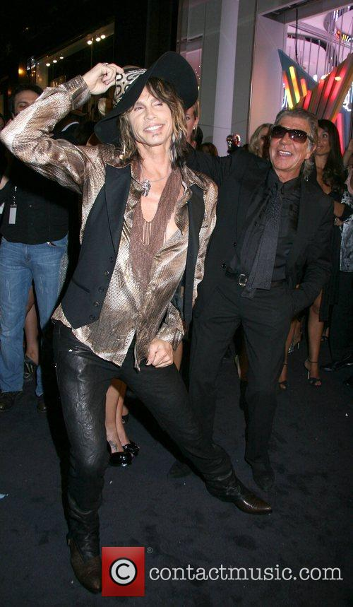 Steven Tyler and Roberto Cavalli 1