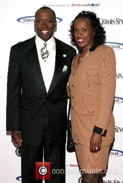 Al Joyner and Jackie Joyner-Kersee Cedars-Sinai Medical Center's...