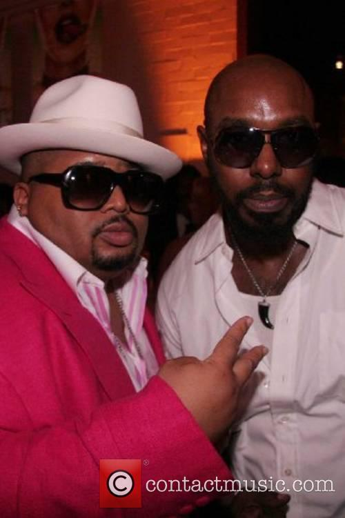 Cee-lo's new Record label launch party at The...