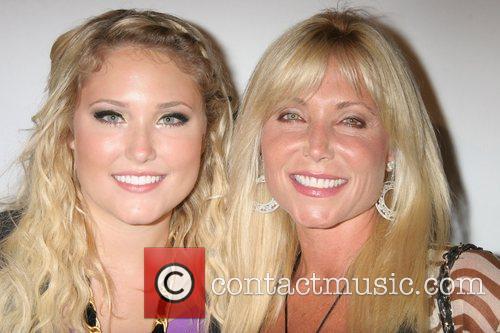 Pamela Bach and daughter Hayley Hasselhoff Celebrity Catwalk...