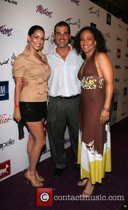 Marta McGonagle, Brien Perry and Erika Ringor Celebrity...