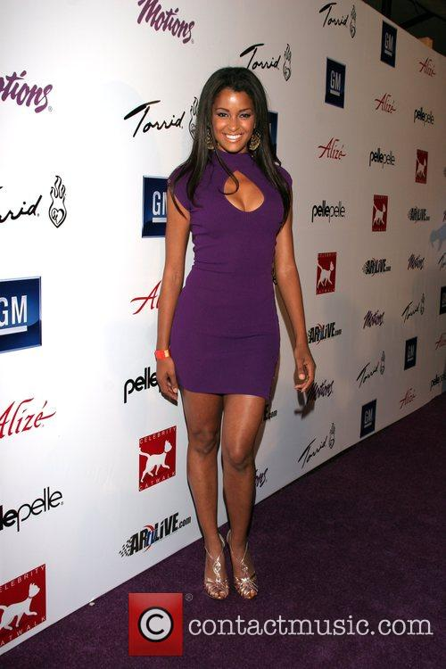 Claudia Jordan Celebrity Catwalk for Charity, benefiting the...