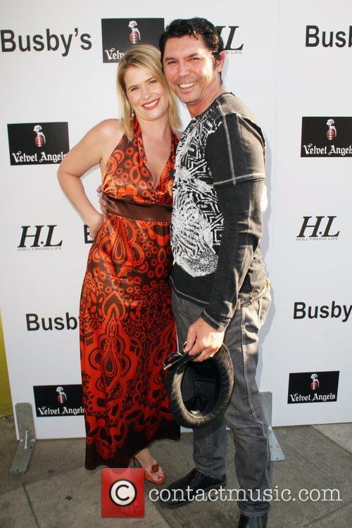 Kristy Swanson and Lou Diamond Phillips Celebrity Poker...