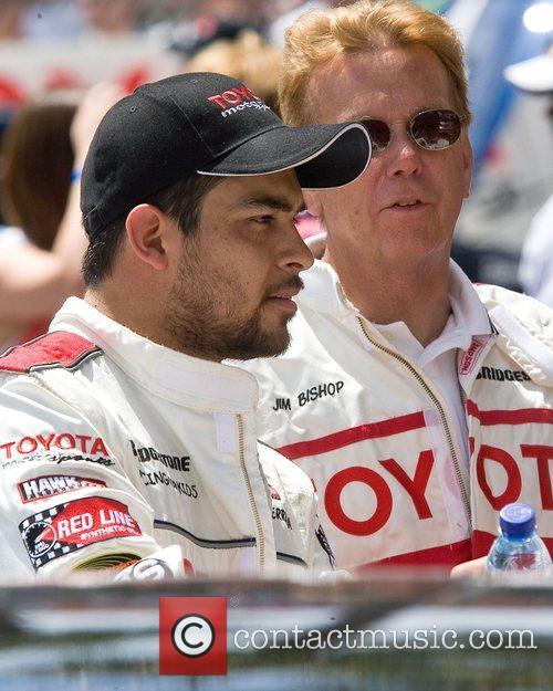 Wilmer Valderrama and Jim Bishop Toyota Grand Prix...