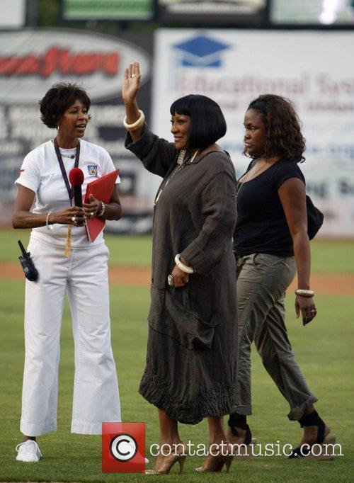 Patti LaBelle 2007 Allen Iverson celebrity softball game...