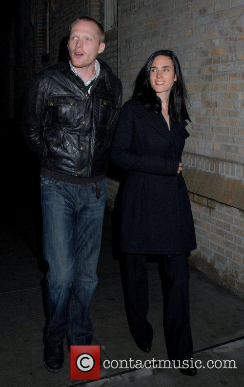 Paul Bettany and Jennifer Connelly Celebrities outside the...