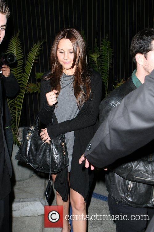 Amanda Bynes leaving the Foxtail nightclub. West Hollywood,...