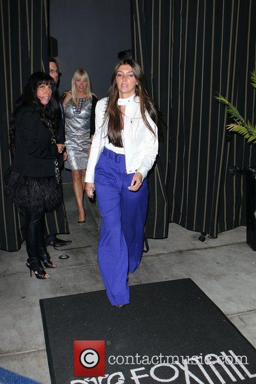 Brittny Gastineau leaving the Foxtail nightclub. West Hollywood,...