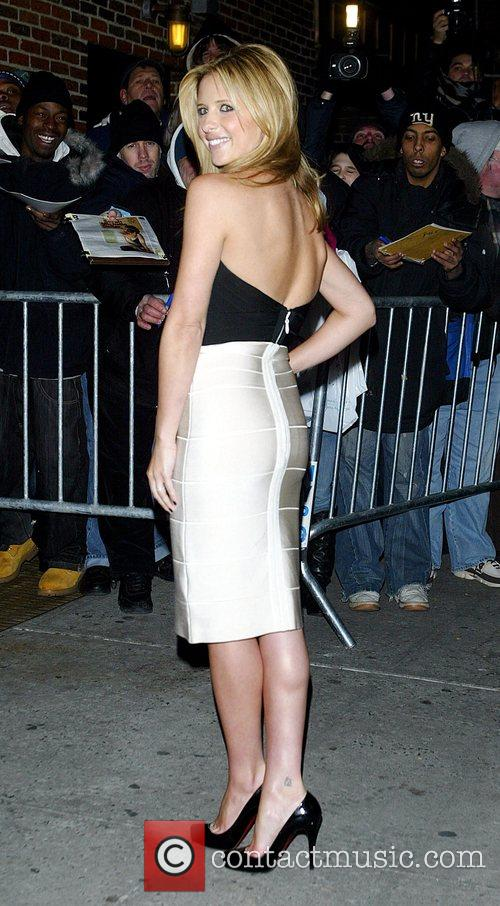Sarah Michelle Gellar and David Letterman 43
