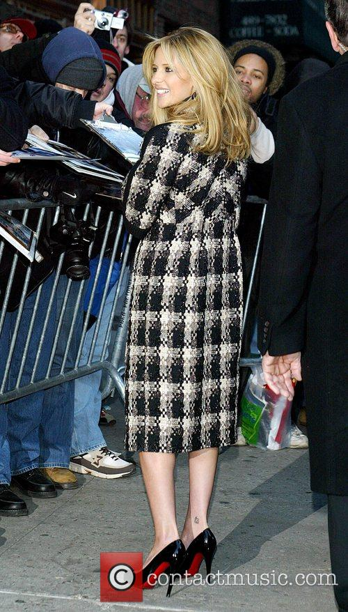Sarah Michelle Gellar and David Letterman 40