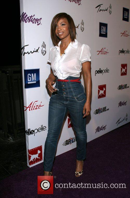 Elise Neal Celebrity Catwalk for Charity benefiting the...