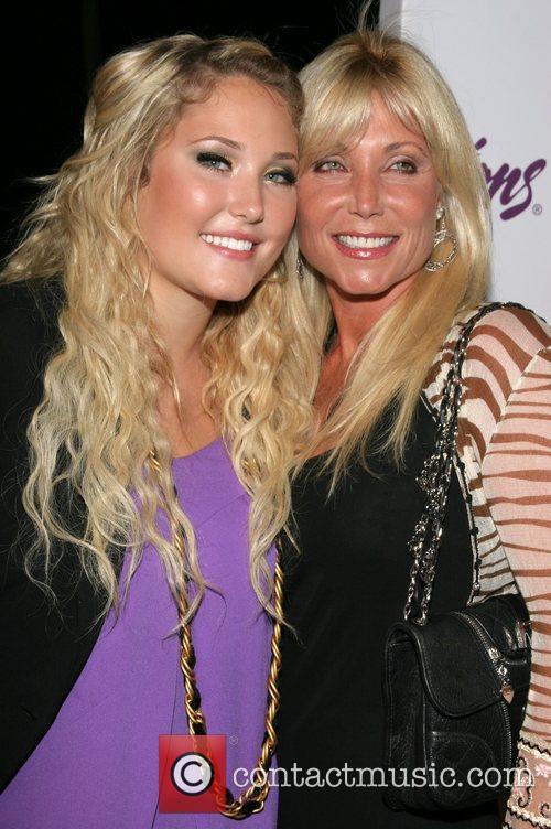 Hayley Hasselhoff and mother Pamela Bach Celebrity Catwalk...