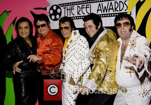 Elvis impersonators 8th Annual Celebrity Impersonators Convention at...