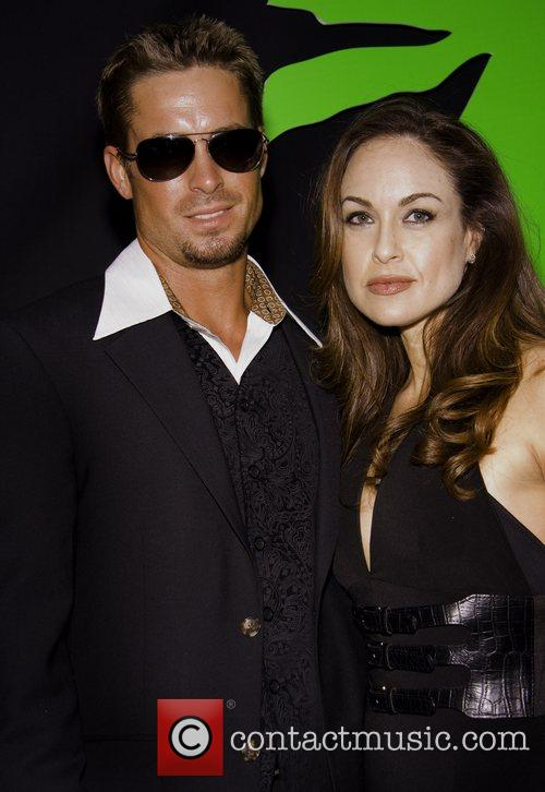 Ryan Fraley (Brad Pitt impersonator) and Tatiana Turan...