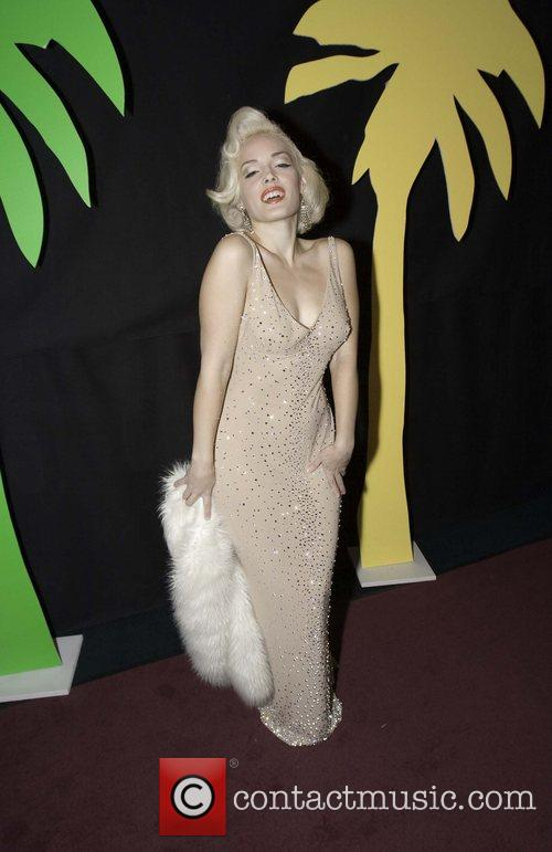 Marilyn Monroe impersonator The 17th annual Reel Awards...