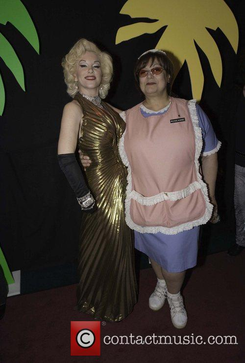 Marilyn Monroe impersonator and Roseanne impersonator The 17th...