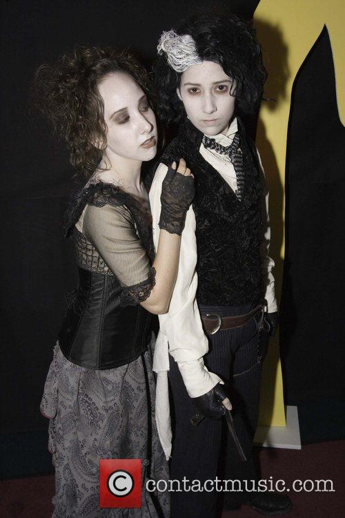 Mrs. Lovett impersonator and Sweeney Todd impersonator The...