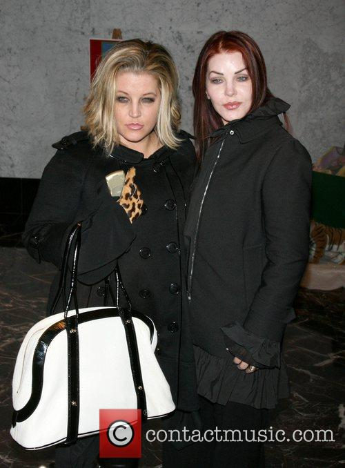 Lisa Marie Presley and Priscilla Presley On-line auction...