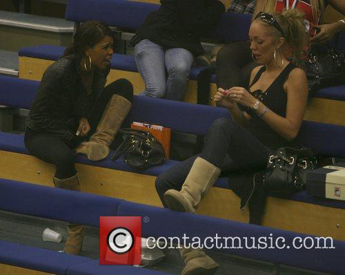 Charley Uchea and Aisleyne Horgan-wallace Take Time Out To Relax 11