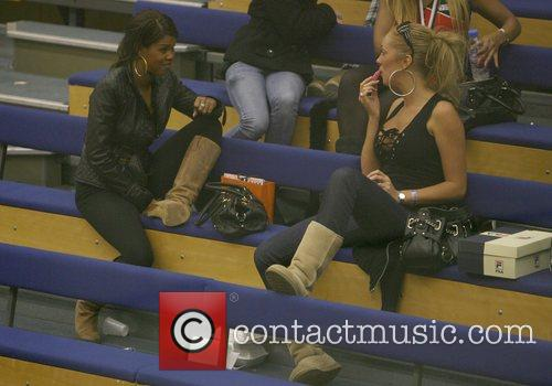 Charley Uchea and Aisleyne Horgan-wallace Take Time Out To Relax 8