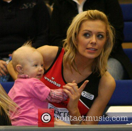 Celebrity Netball Sevens, held at Sport and Performing...