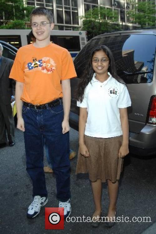 Jonathan Horton, Kavya Shivashankan, finalists in the National...