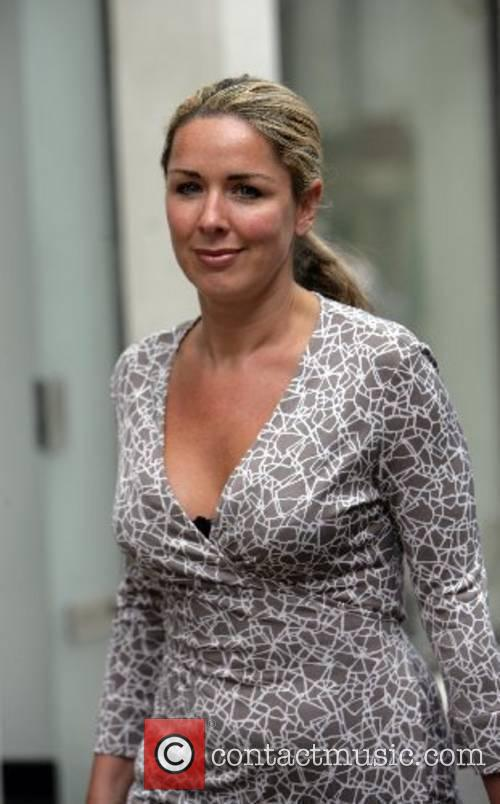 Claire Sweeney  goes into Dolce & Gabbana...