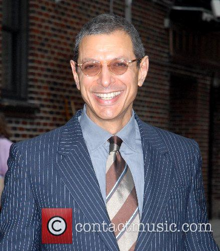 Jeff Goldblum and David Letterman 8