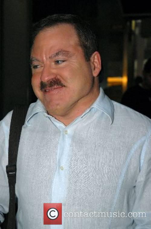 World-renowned psychic medium, James Van Praagh outside Fox...