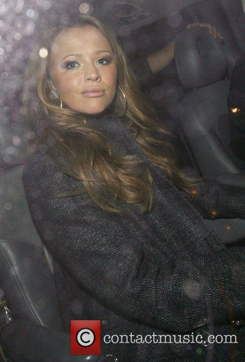 Kimberley Walsh Leaving G.A.Y held at the London...
