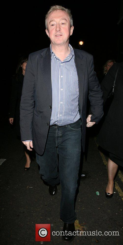 Louis Walsh arrives too late to see most...