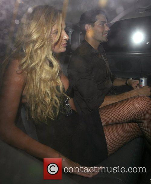 Nadine Coyle and Jesse Metcalfe Leaving G.A.Y held...