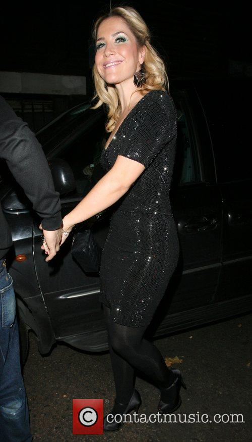 Nadine Coyle and Jesse Metcalfe Arriving at G.A.Y...