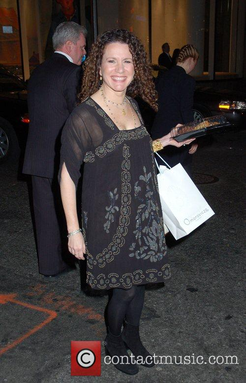 Susie Essman outside NBC Studios for 'Late Night...